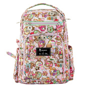 Ju-Ju-Be Be Right Back Backpack Nappy Bag,Tokidoki Donutella Sweet Shop