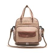 Multi-Functional Nappy Bag,XREXS Mummy Organiser Backpack/ Shoulder Bag,Tote Bags/ Handbag,Cute Baby Nappy Bag with Adjustable Strap, Larger Capacity,Waterproof Design
