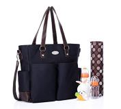 BayB Brand Colorland Nappy Tote Bag - Navy