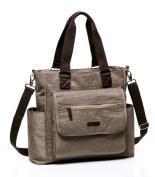 BayB Brand Colorland Nappy Tote Bag - Khaki