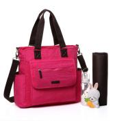 BayB Brand Colorland Nappy Tote Bag - Hot Pink