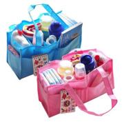 Portable Nappy Bags, Rainbowlight Simple Nursing Baby Storage Bag/Mother Handbag/Milk Bottle Nappy Divider Organiser