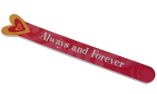 Heart Die-cut Nail File - Always and Forever