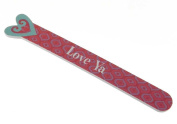 Heart Die-cut Nail File - Love Ya