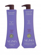 Neuma Neu Smooth Shampoo 25.4 Fluid Ounce And Neu Smooth Leave On Conditioner 25.4 Fluid Ounce Duo set