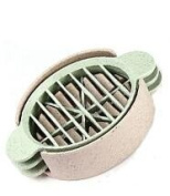 Wheat straw egg cutter three in one multi-functional fancy split open the egg egg preserved egg cut artefact