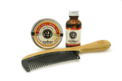2 Bits Beard Grooming Set - The Journey - All Natural Fragrance of Blood Orange and Vanilla