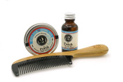 2 Bits Beard Grooming Set - The Fresh - All Natural Fragrance of Eucalyptus and Spearmint