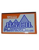 25 ASCO Platinum Class Double Edge Safety Razor Blades