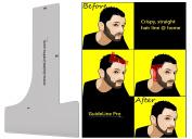 Premium Men's Hair Line Template By GuideLine Pro - Shape & Edge Your Hair Line Symmetry