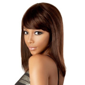 Indian Remy Wig Hir-indy By Motown Tress 4(medium Brown) by Oradell Inc.