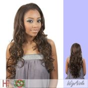 LFE-MELODY (Motown Tress) - Futura Fibre Lace Front Wig in DARK BROWN by Oradell International Corporation