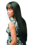 JUNO (Motown Tress) - Synthetic Full Wig in DARKEST BROWN by Oradell International Corporation