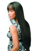 JUNO (Motown Tress) - Synthetic Full Wig in DARKEST BROWN by Oradell International Corporation