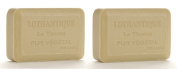 Lothantique Authentique Verbena Shea Butter Vegetable Bar Soap - 2 Bars, 200g Each