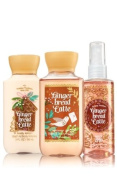 Bath and Body Works Gift Set Gingerbread Latte 90ml Shower Gel, Lotion and Mist