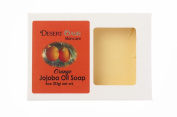 Artisan Jojoba Oil Soap scented with fresh Orange Zest, All Natural and Hand Made, 120ml