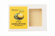 Artisan Jojoba Oil Soap scented with fresh Lemon Zest, All Natural and Hand Made, 120ml