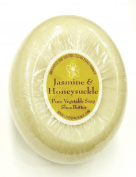 Soap - 150g Round Bar - Jasmine Honeysuckle Fragrance by L'epi de Provence