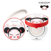 [KARADIUM] PUCCA LOVE EDITION Bbosong Blur Cushion SPF50+ PA+++ 15g #Milky White / 3 in 1 Wrinkle care & Whitening & Sunscreen