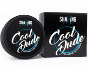 Best Men's Pre-Shave Scrub – Shaving Station Cool Dude Pre-Shave Scrub – Pure Peppermint & Spearmint Essential Oils – No Sulphates No Parabens –