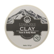 THE VERY BEST Volcanic Face and Body Clay Mud Mask 150g/ 160ml- Face and Body Clay Mud Mask Facial Treatment for Acne Blackheads Pimples Scars and Cellulite. Premium Spa Quality Balinese Clay Product.