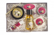 All Natural Passion Fruit Jojoba Skin Care Sampler Pack, 5 items, All Natural, Hand Made. Includes Lip Balm, Hand Salve, Salt Scrub, Soap, Pure Jojoba Oil