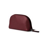 Lucrin - Makeup Bag (6.3 x 8.4cm x 5.3cm ) - Burgundy - Goat Leather