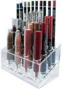 Skin Radiance Large Acrylic Lip Liner Pencil Holder / Eye Liner Pencil Holder. Premium Makeup Organisers.! Get Yours Now!