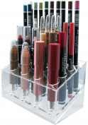 Skin Radiance Large Acrylic Lip Liner Pencil Holder / Eye Liner Pencil Holder. Premium Makeup Organisers.! Get Yours Now!
