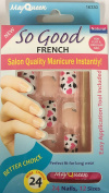 So Cool French Fake Nails False Nails Salon Nails 16330