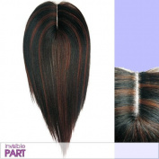 LACEPART13 (Vivica A. Fox - FOX REMI) - Remy Human Hair Invisible Lace Part Closer in JET BLACK by Vivica A. Fox - Weave and Bulk