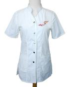 """Anna Jacket"" with Nail Art (NL) Logo, High Fashion Nylon Uniform by Charlene"