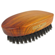 Golddachs Beechwood Boar Bristle Oval Military Brush 8.9cm 7520