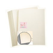 Ark A4 Curious Metallics Ivory Card Stock- 25 Sheets