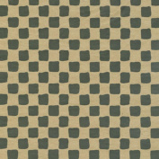 Black and Tan Chequered Tissue Paper for Gift Wrapping, 20 Sheets