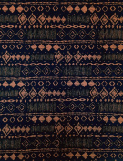 Diamond Tribal Print on Stretch Lightweight ITY Knit Jersey Polyester Spandex Fabric by the Yard