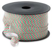 Christmas Curling Ribbon Red & Green Stripe