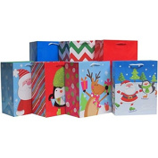 Holiday Time Whimsy Value Pack Gift Bags, 7ct