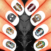 MICKEY MOUSE MINNIE MOUSE DISNEY S/N CLASSIC CHRISTMAS NAIL ART SET STICKERS DECALS WATER TRANSFERS. USE WITH NATURAL GEL ACRYLIC