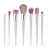 MakeUp Brush Set,Siniao 7PCS Make Up Foundation Eyebrow Eyeliner Blush Cosmetic Concealer Brushes