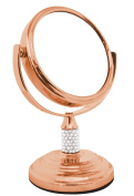 Rucci Mini Vanity Mirror 4x/1x, Bronze