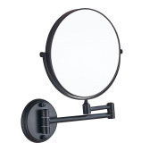 Cavoli 20cm Two-Sided Swivel Wall Mounted Mirror with 7x Magnification,ORB Finish