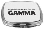 Rikki Knight Compact Mirror, My Favourite People Call Me Gamma/Black Design, 150ml