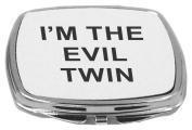 Rikki Knight Compact Mirror, I'm the Evil Twin, 150ml