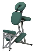 Stronglite Ergo Pro II - Version 2 Portable Massage Chair Package in Teal Green w 3 D.V.D Medical Massage Video Series