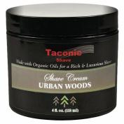 Taconic Shave URBAN WOODS Shaving Cream with Organic Oils - 120ml