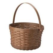 Longaberger 2016 Apple Basket Vintage Stain