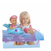 Nenuco by Famosa 33cm Waterproof Bathe 700012756 With Me Doll Set