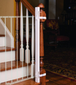 EZ-Fit Baby Gate Adapter Kit - 110cm - Protect Bannisters and Walls - Great for Children and Pets - ONLY Includes (1) one adapter side - Please review all bullets and description prior to purchase